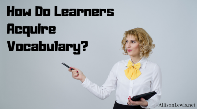 How Do Learners Acquire Vocabulary_