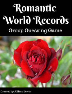 Romantic World Records - cover good