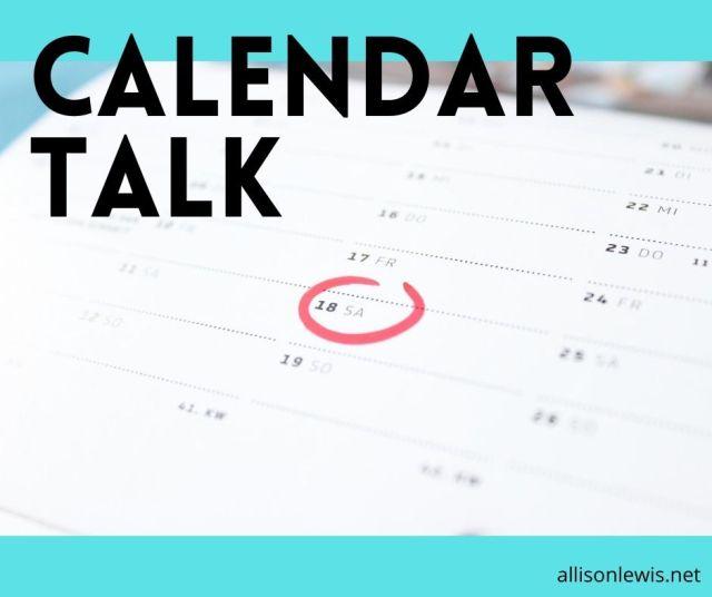 calendartalk